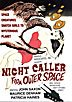NIGHT CALLER FROM OUTER SPACE (1966) - DVD