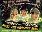 ABBOTT & COSTELLO MEET THE INVISIBLE MAN - 11X14 Lobby Card