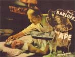 APE (1940/Boris Karloff!) - 11X14 Loby Card Reproduction