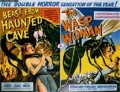 BEAST FROM HAUNTED/WASP WOMAN - 11X14 LC Reproduction