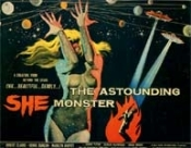 ASTOUNDING SHE MONSTER - 11X14 Lobby Card Reprodution