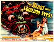BEAST WITH A MILLION EYES (1955) - 11X14 LC Repro