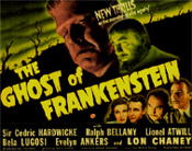 GHOST OF FRANKENSTEIN (1941/Characters) - 11X14 LC Reproduction