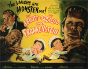 ABBOTT & COSTELLO MEET FRANKENSTEIN (1948/PNT) 11X14 LC Repro
