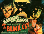 BLACK CAT, THE (1934/Title Card) - 11X14 Lobby Card Reproduction