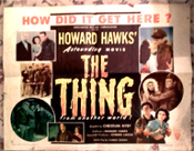 THING, THE (1951) - Original Half Sheet Poster