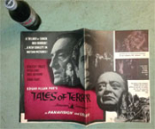 TALES OF TERROR (1962) - Original Theater Pressbook