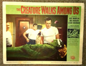 CREATURE WALKS AMONG US - 11X14 Original Lobby Card