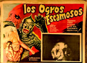 SLIME PEOPLE - 13 X 17 - Original Mexican Lobby Card