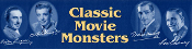 CLASSIC MOVIE MONSTER STAMP HEADER - Collectible