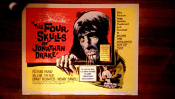 FOUR SKULLS OF JONATHAN DRAKE (1958) - Original Theater Poster