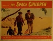 SPACE CHILDREN (1958/Carrying Brain!) - Original Lobby Card