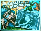 VALLEY OF THE DINOSAURS (1960) - Ori. Mexican Lobby Card