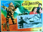 INVISIBLE BOY, THE (1957) - Original Mexican Lobby Card