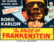 BRIDE OF FRANKENSTEIN (Real Art Version) - 11X14 Lobby Card Repr