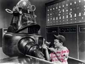 RICHARD EYER (Repairs Robot) - Autographed 8X10 Photo