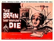 BRAIN THAT WOULDN'T DIE (1959) - 11X14 Lobby Card Reproduction