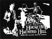 HOUSE ON HAUNTED HILL - Collectible Denim Patch