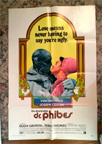 ABOMINABLE DR. PHIBES - Original One Sheet Poster