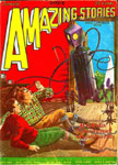 AMAZING STORIES Vol. 2 No. 10 - Pulp Magazine