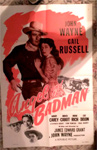 ANGEL AND THE BADMAN (John Wayne) - Original Poster