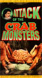 ATTACK OF THE CRAB MONSTERS (1957) - Used VHS