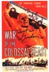 BERT I. GORDON (Colossal Beast Poster Image) - Autographed Photo