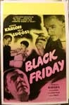 BLACK FRIDAY - 14 X 20 Window Card Reproduction