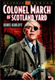 COLONEL MARCH OF SCOTLAND YARD Vol. 1 - Used DVD