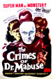 CRIMES OF DR. MABUSE, THE (1933) - All Region DVD-R