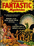 FAMOUS FANTASTIC MYSTERIES (October 1941) - Pulp Magazine