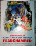 FEAR CHAMBER (Boris Karloff) - 27X36 Original One Sheet