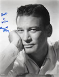 KEN TOBEY - autographed glossy 8X10 photo