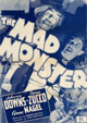 MAD MONSTER, THE (1942) - All Region DVD-R