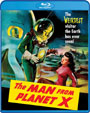 MAN FROM PLANET X, THE (1951) - Blu-Ray