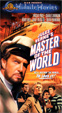 MASTER OF THE WORLD (1961) - VHS