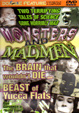 MONSTERS & MADMEN (Double Feature) - DVD