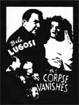 CORPSE VANISHES - Collectible Denim Patch