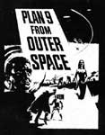 PLAN 9 FROM OUTER SPACE - Collectible Denim Patch
