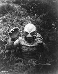 RICOU BROWNING (Creature Underwater) - Autographed Photo