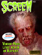 SCREEM #27 (Limited Edition Vincent Price Cover) - Magazine