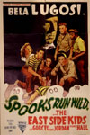 SPOOKS RUN WILD (Astor Re-Release) - Original One Sheet Poster