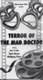 TERROR OF THE MAD DOCTOR (1962) - VHS