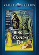 THING THAT COULDN'T DIE, THE (1958) - DVD