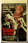 TOBOR THE GREAT - 14 X 20 Window Card Reproduction
