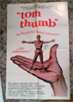 TOM THUMB - Original One Sheet Poster