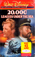 TWENTY THOUSAND LEAGUES UNDER THE SEA (1954) - VHS