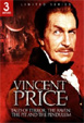 VINCENT PRICE: LIMITED SERIES (3 Movie) - DVD Box Set