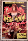 WEIRD WOMAN (Real Art Re-Issue) - Original One Sheet Poster