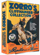 ZORRO'S CLIFFHANGER COLLECTION (3 Serials) - DVD